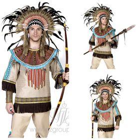 Мужской костюм индейца костюм вождя